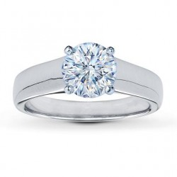 Honeymoon Diamond Solitaire Engagement Ring