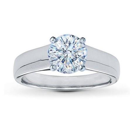 Honeymoon Diamond Solitaire Engagement Ring